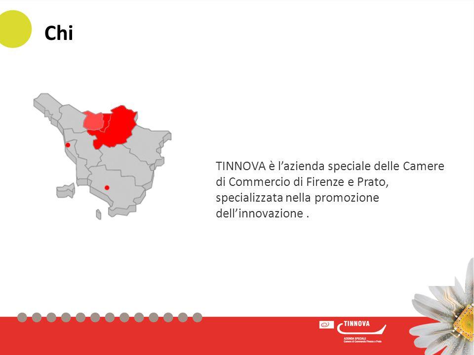 Chi TINNOVA è l'azienda speciale delle Camere di Commercio di Firenze e Prato, specializzata nella promozione dell'innovazione.