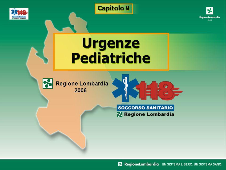 Urgenze Pediatriche Regione Lombardia 2006 Capitolo 9