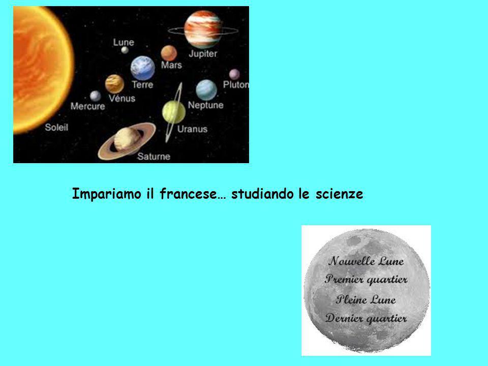Impariamo il francese… studiando le scienze