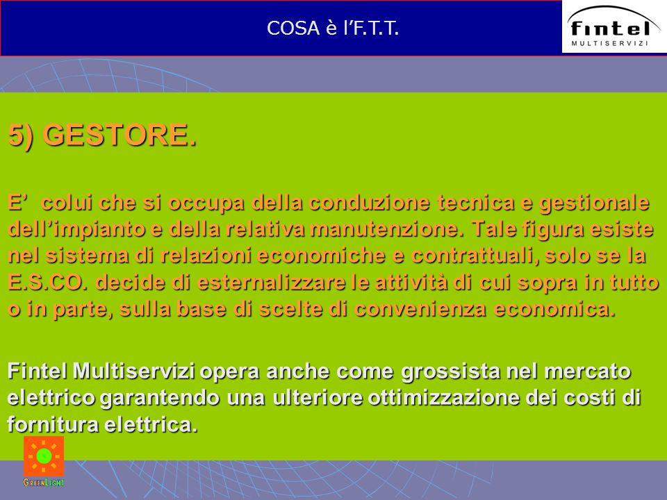 5) GESTORE.