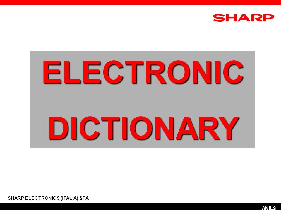 MENU' INIZIALE Risolutore anagramma SHARP ELECTRONICS (ITALIA) SPA ANILS AZIONE 4