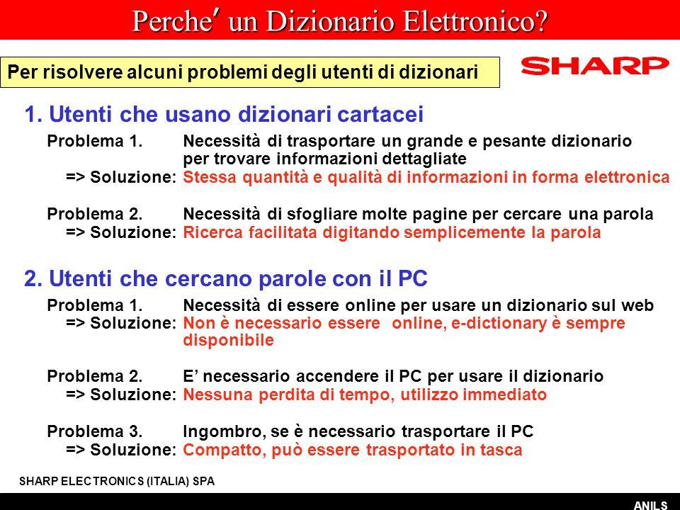 Funzione SALTO SHARP ELECTRONICS (ITALIA) SPA fishing ANILS