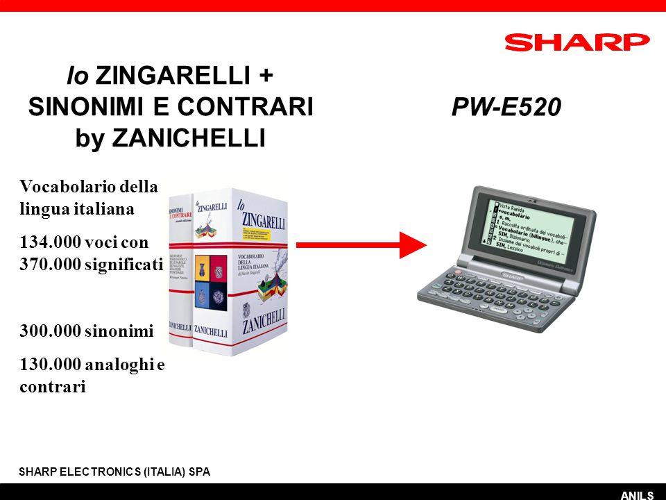 RICERCA VERBO FRASALE SHARP ELECTRONICS (ITALIA) SPA ANILS