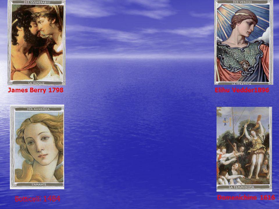 James Berry 1798Elihu Vedder1896 Botticelli 1484 Domenichino 1616