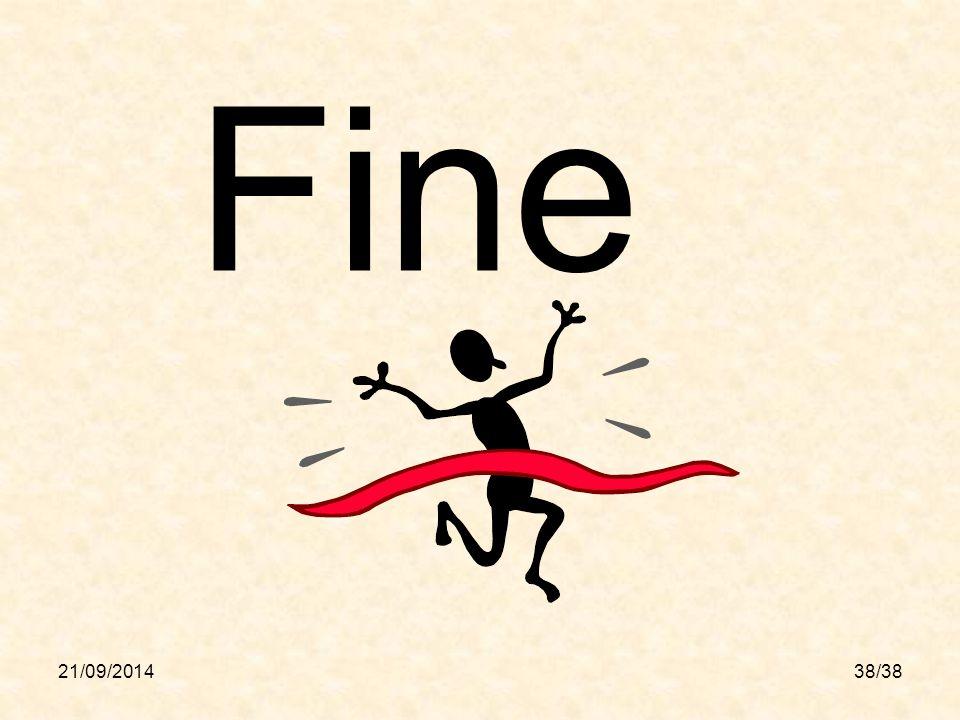 21/09/201438/38 Fine