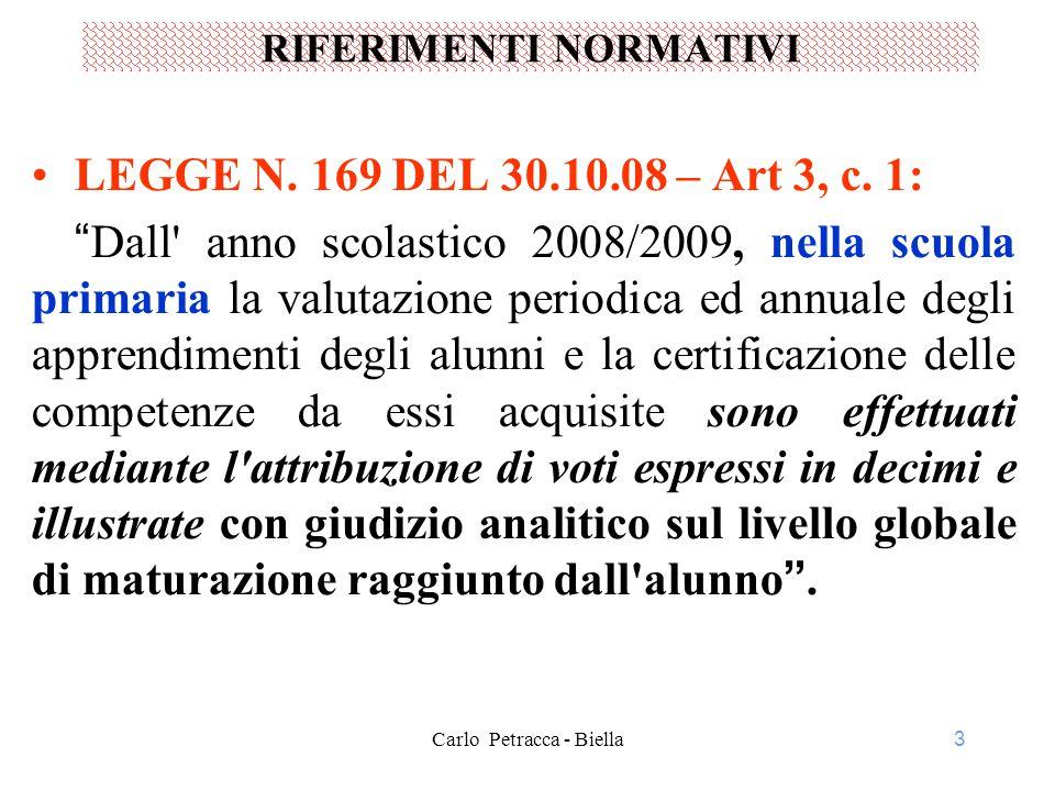 34 VERIFICA E VALUTAZIONE DELLE COMPETENZE C.