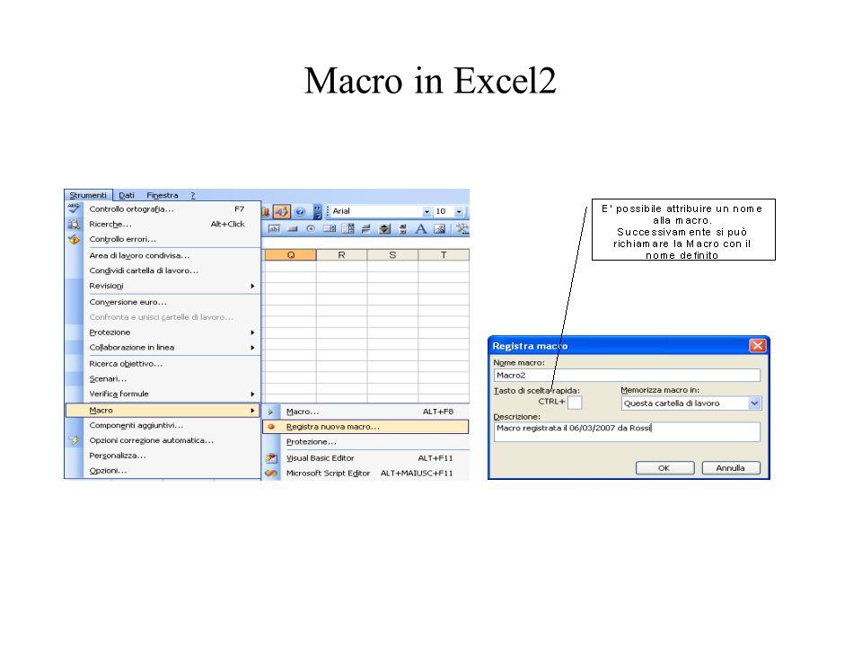 Macro in Excel2