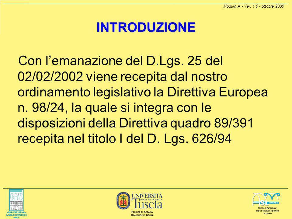 PROTEZIONE DA AGENTI CHIMICI A cura di: Giancarlo Mannozzi ai sensi del D.Lgs. 626/94 e dell'Accordo tra Stato e Regioni ai fini dell'attuazione dell'
