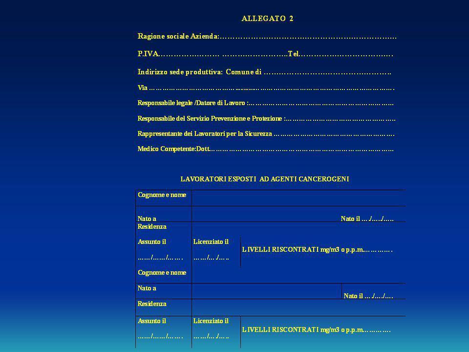 Modulo A - Ver. 1.0 - ottobre 2006 AGENTI CANCEROGENI E MUTAGENI