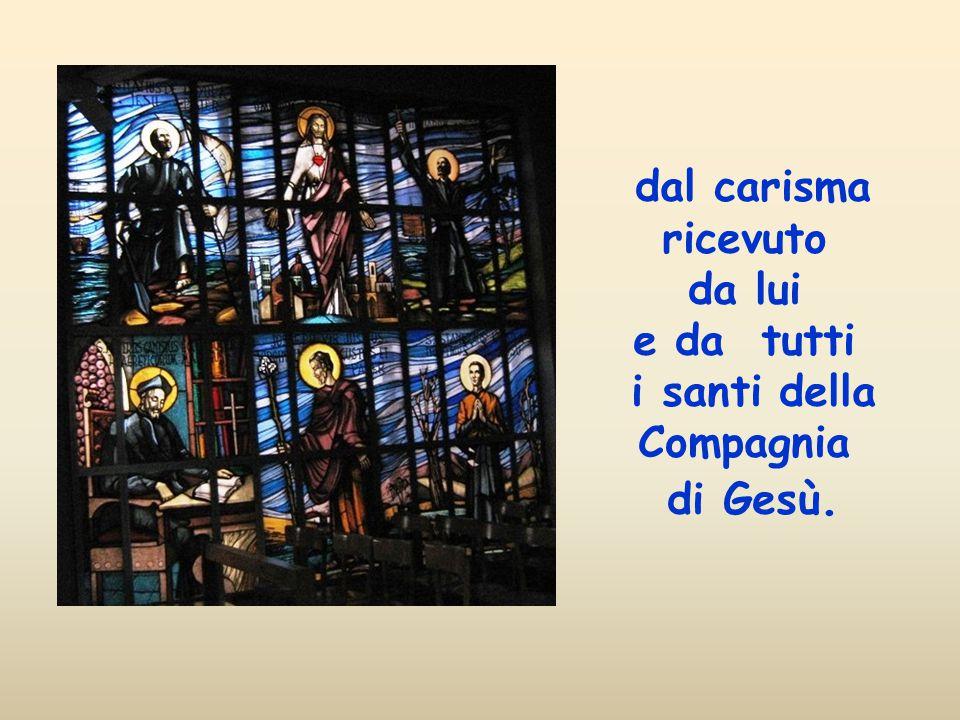 lasciamoci guidare dallo spirito di Sant'Ignazio di Loyola,