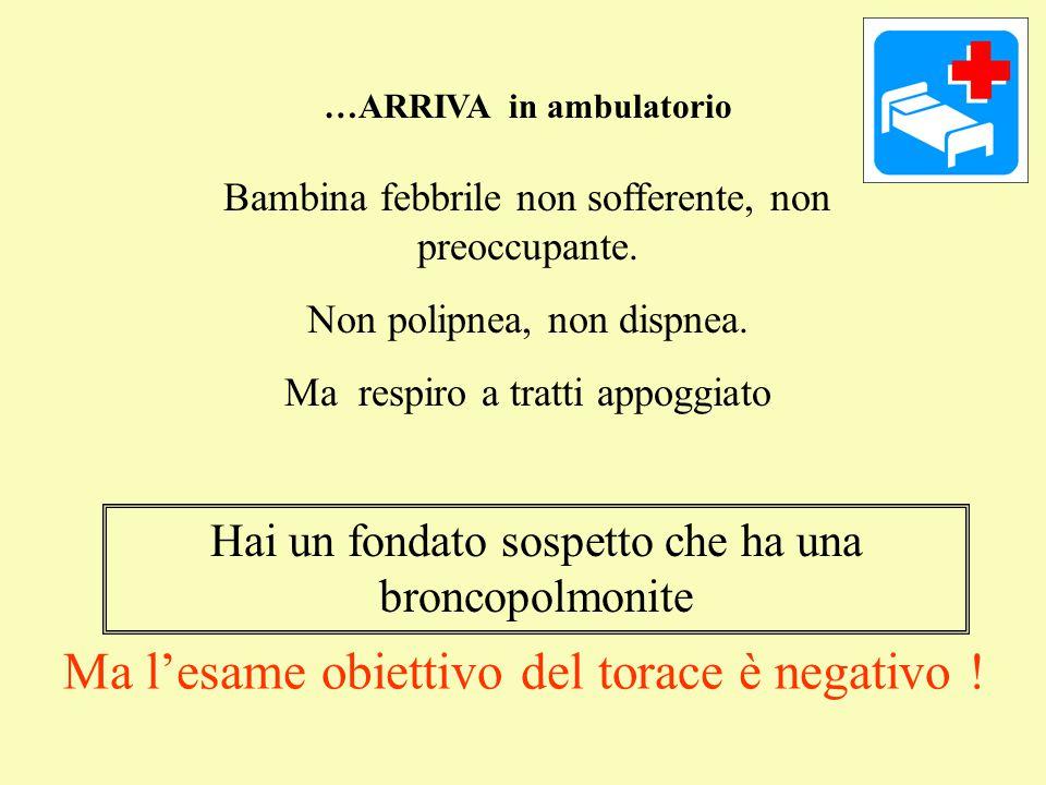 A) Formalizzi il sospetto, prescrivi l'antibiotico (quale?).