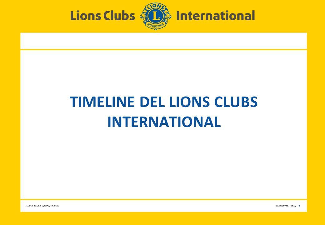 LIONS CLUBS INTERNATIONALDISTRETTO 108Ib4 4 Cenni storici (1/3) 1917 - Melvin Jones fonda l'Associazione dei Lions Clubs Non si può andare lontani finché non si fa qualcosa per qualcun altro. (M.