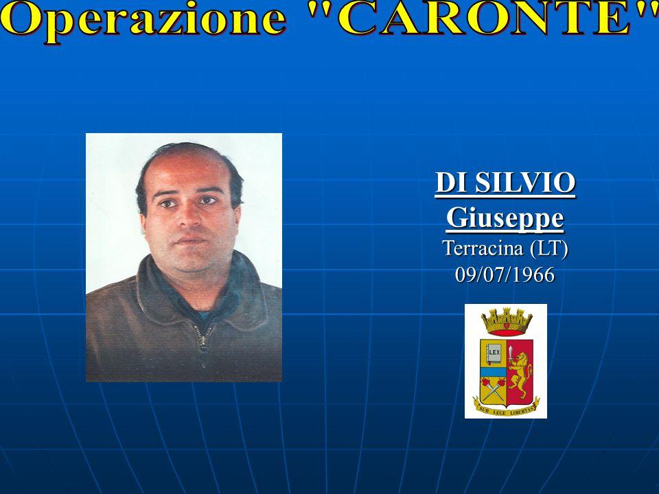 DI SILVIO Giuseppe Terracina (LT) 09/07/1966