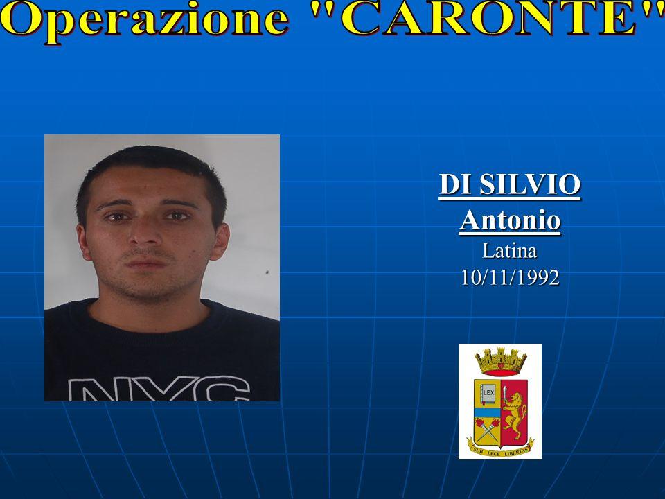 DI SILVIO AntonioLatina10/11/1992