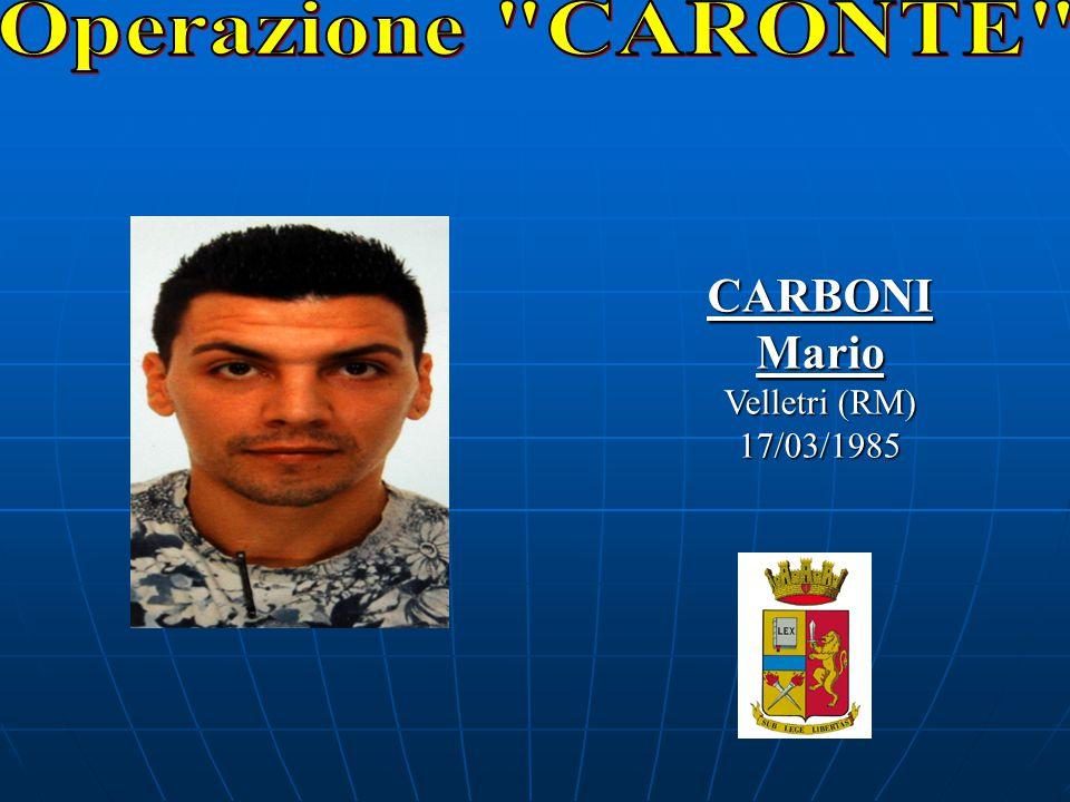 CARBONIMario Velletri (RM) 17/03/1985