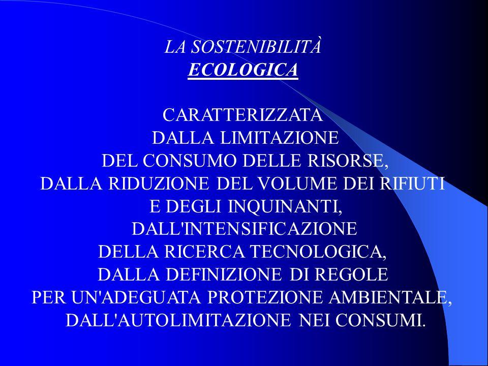 L'INFORMATIVA ECO-AMBIENTALE Obiettivo: la circolazione delle informazioni ambientali; il miglioramento della comunicazione con il mondo esterno; il consolidamento della politica ambientale; lo sviluppo del sistema di gestione ambientale; la riduzione delle emissioni e dei relativi costi.
