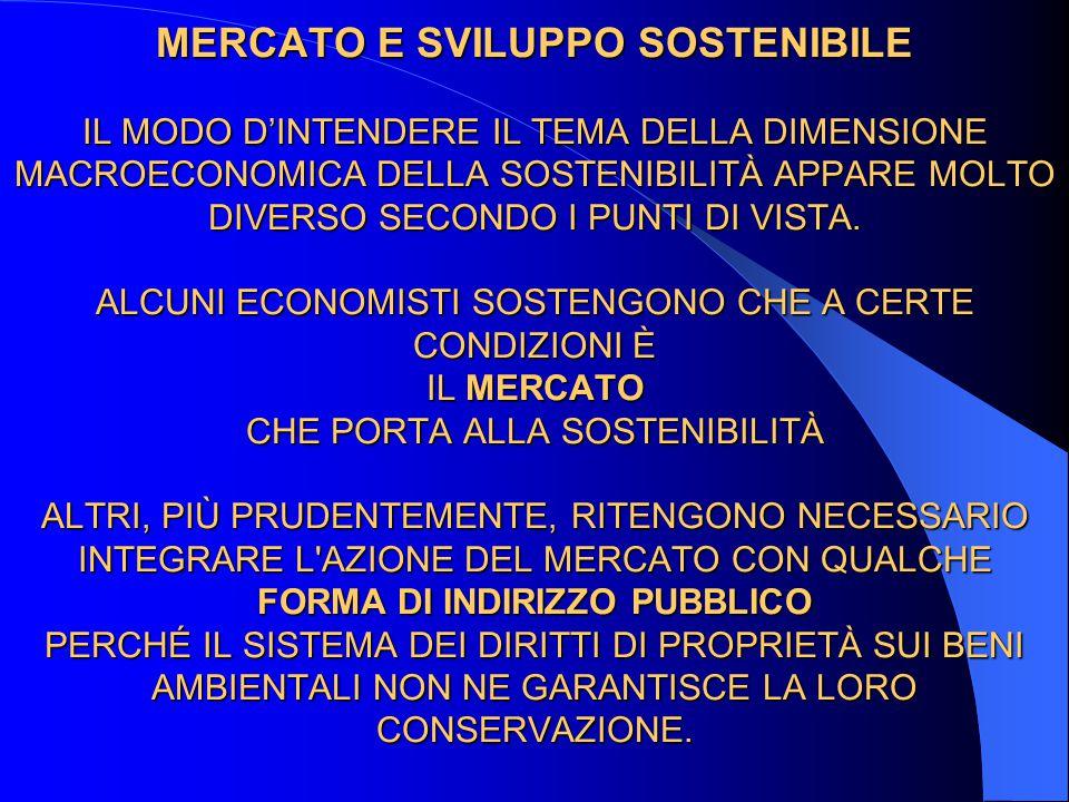 METODI DI REGOLAZIONE DEMOCRATICA A livello istituzionale, sembra necessario sviluppare metodi di regolazione democratica dell economia.