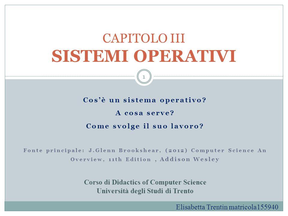 Indice della presentazione Definizione di sistema operativo e qualche esempio di sistema operativo Breve storia dell'evoluzione dei sistemi operativi dagli anni '50 ad oggi Curiosità: chi è Linus Torvalds.