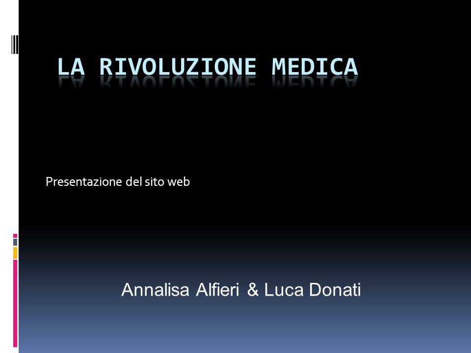 Presentazione del sito web Annalisa Alfieri & Luca Donati