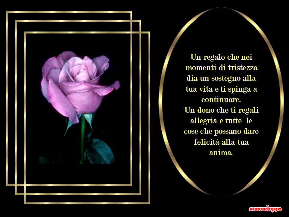 Un regalo che tu possa conservare a lungo e del quale, nella tua memoria, rimanga impressa la data speciale in cui ti è stato donato.