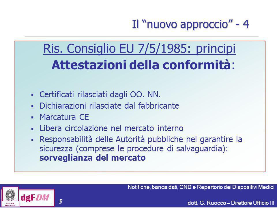 Notifiche, banca dati, CND e Repertorio dei Dispositivi Medici dott.