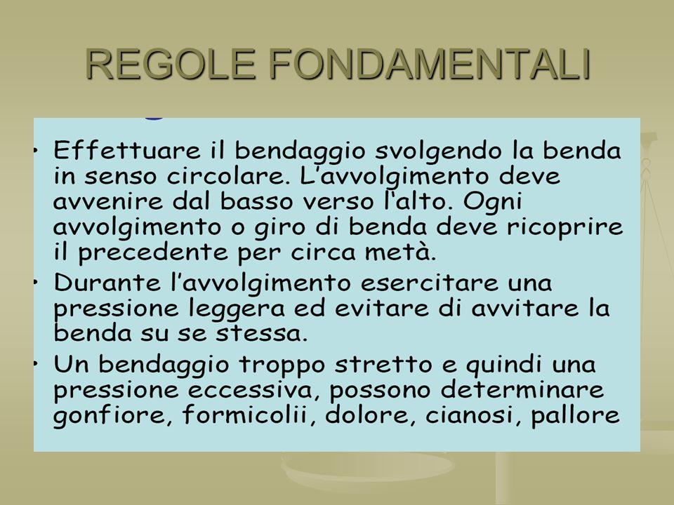 REGOLE FONDAMENTALI