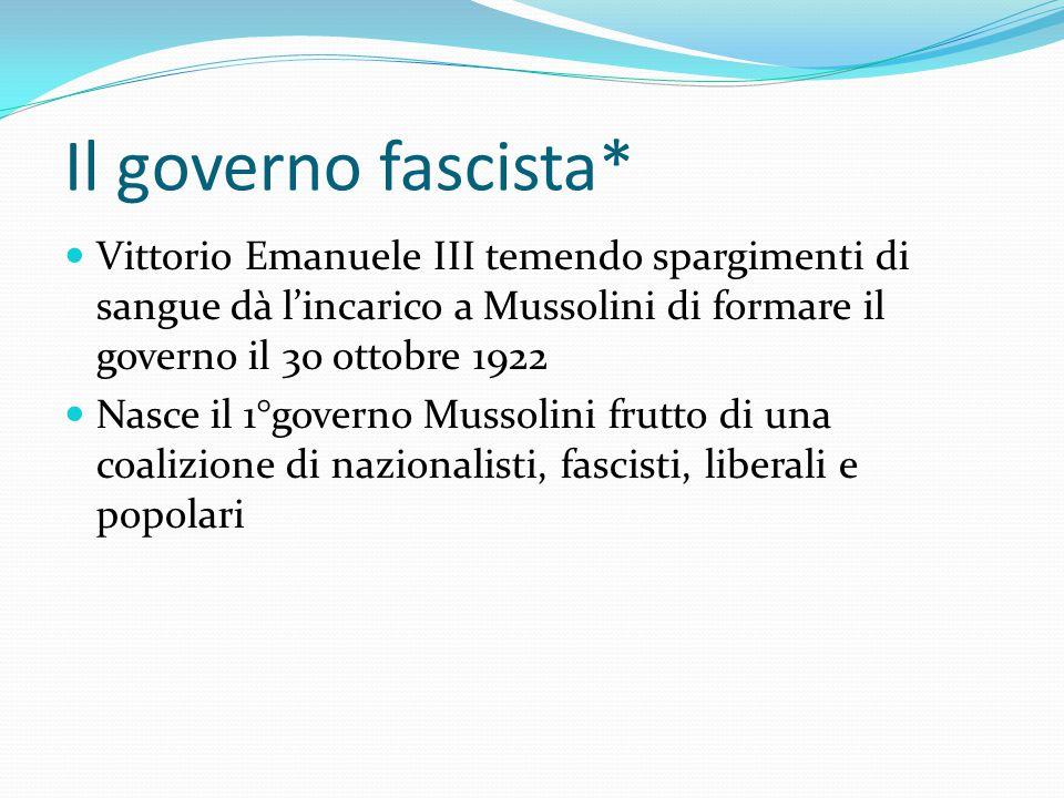 La Marcia su Roma Con un programma così conservatore Mussolini potè trattare il suo ingresso al Governo Mentre trattava con Giolitti pensava al golpe