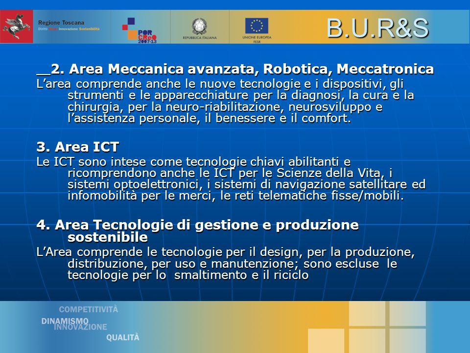 6 2. Area Meccanica avanzata, Robotica, Meccatronica 2.