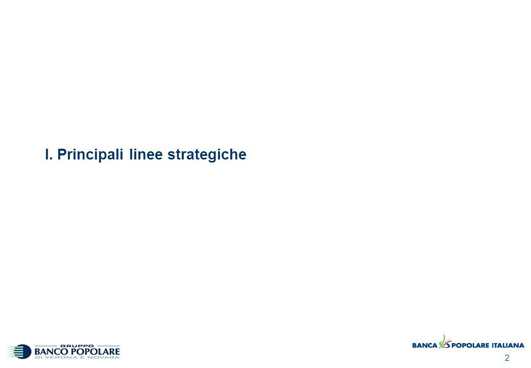 2 I. Principali linee strategiche