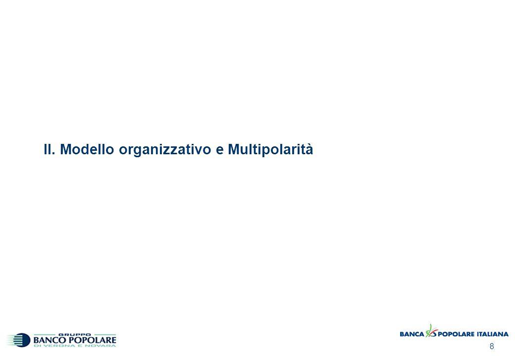 8 II. Modello organizzativo e Multipolarità