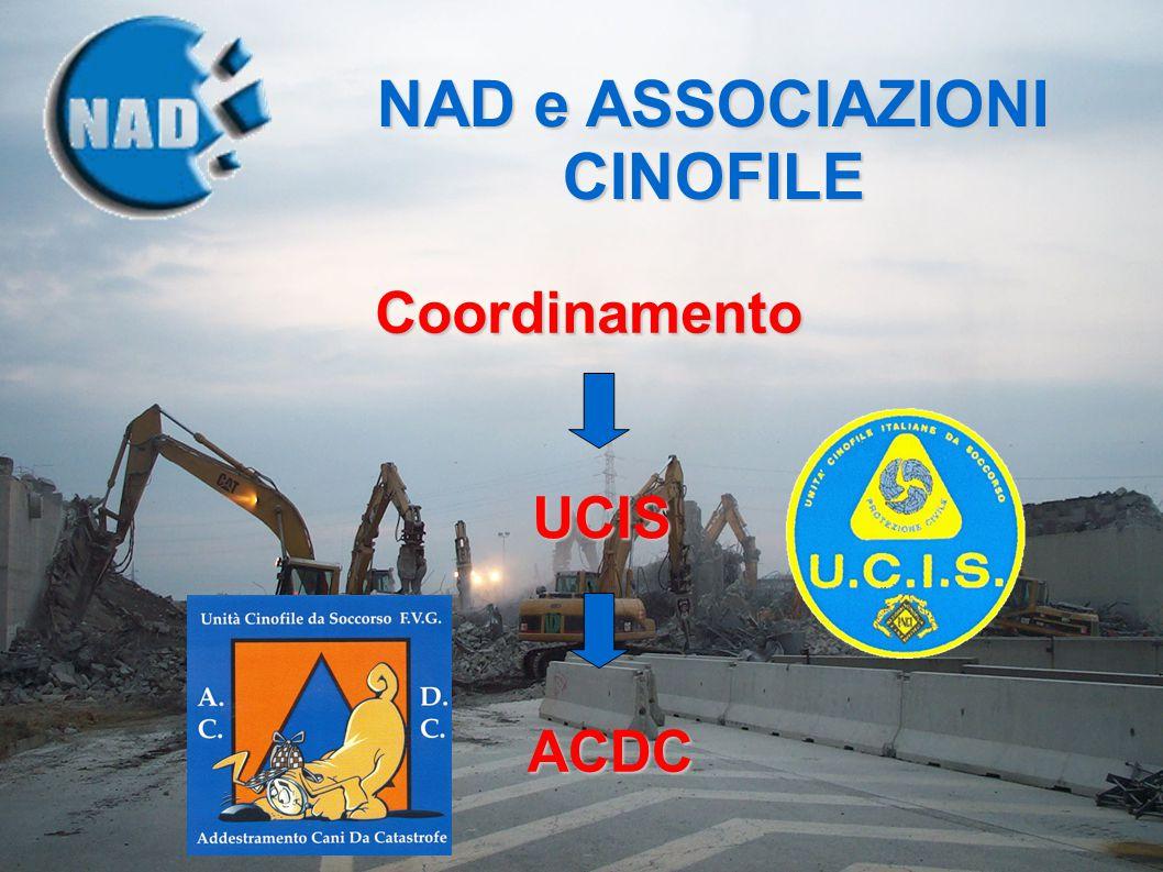 NAD e ASSOCIAZIONI CINOFILE Coordinamento UCIS ACDC