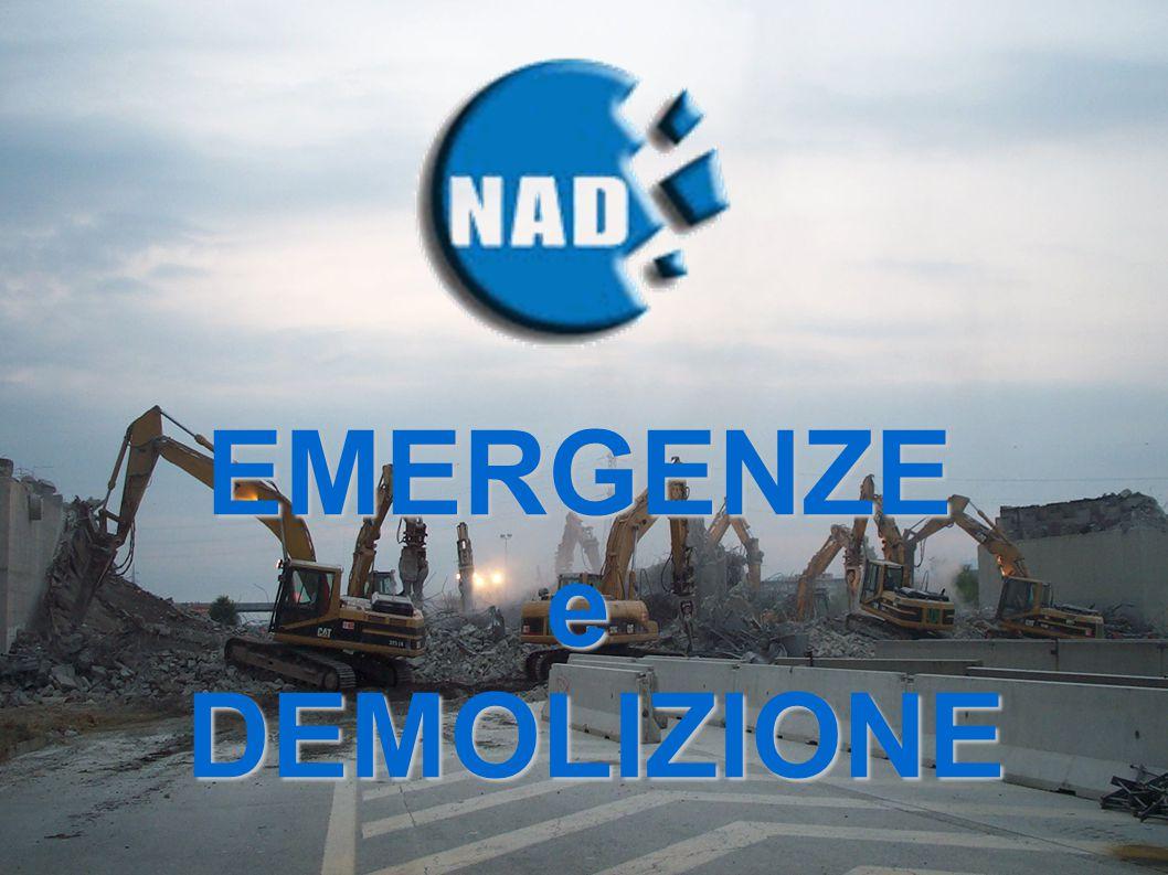 EMERGENZEe DEMOLIZIONE DEMOLIZIONE
