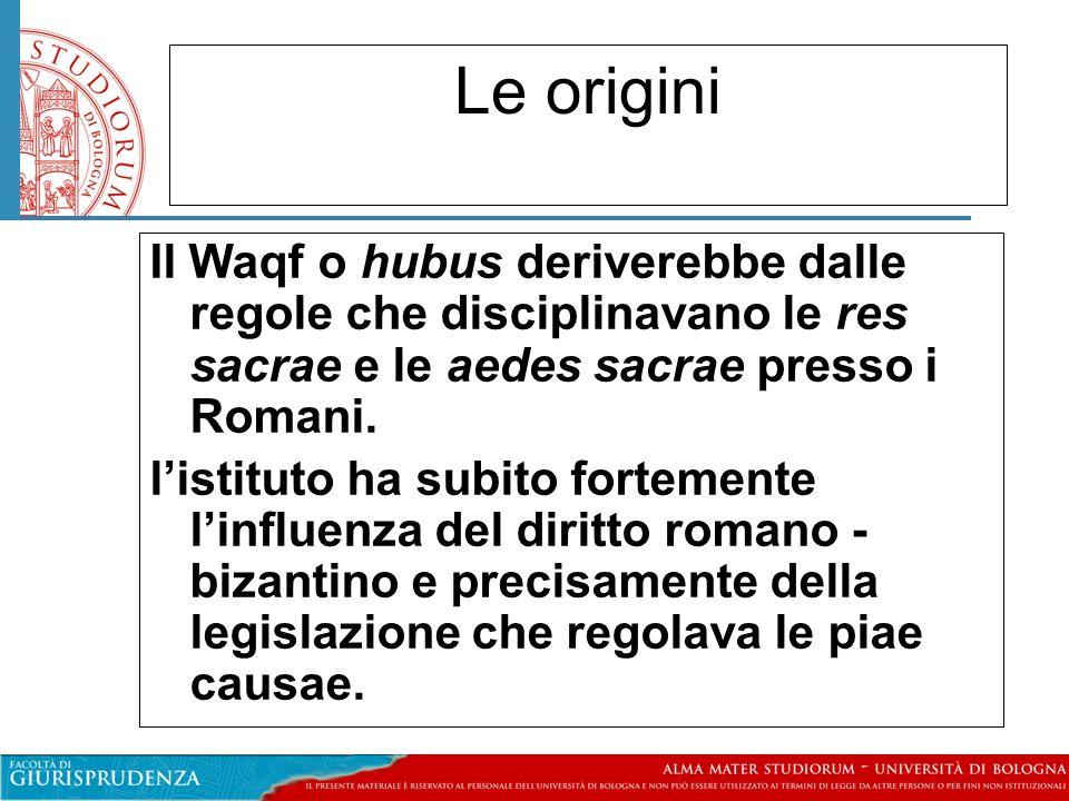 Altri tipi di waqf: il waqf Ahli Il waqf Ahli o di famiglia: tale tipo di waqf consente di eludere le norme coraniche in materia di successione.