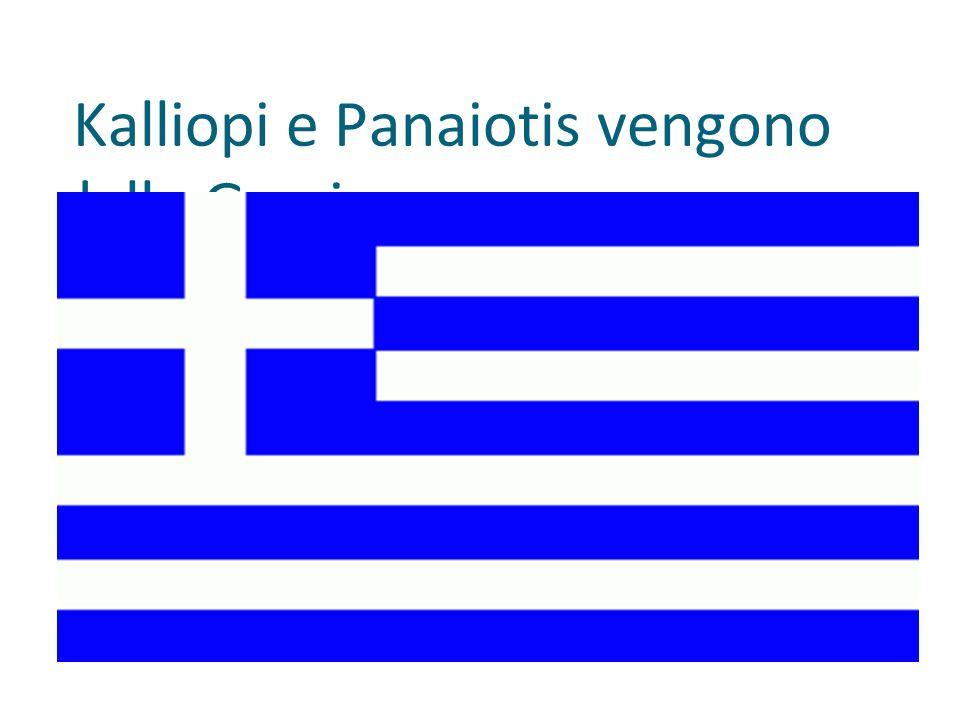 Kalliopi e Panaiotis vengono dalla Grecia.