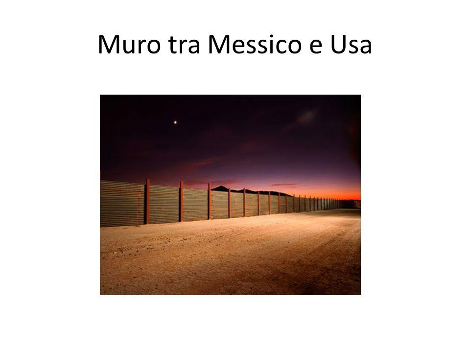 Muro tra Messico e Usa