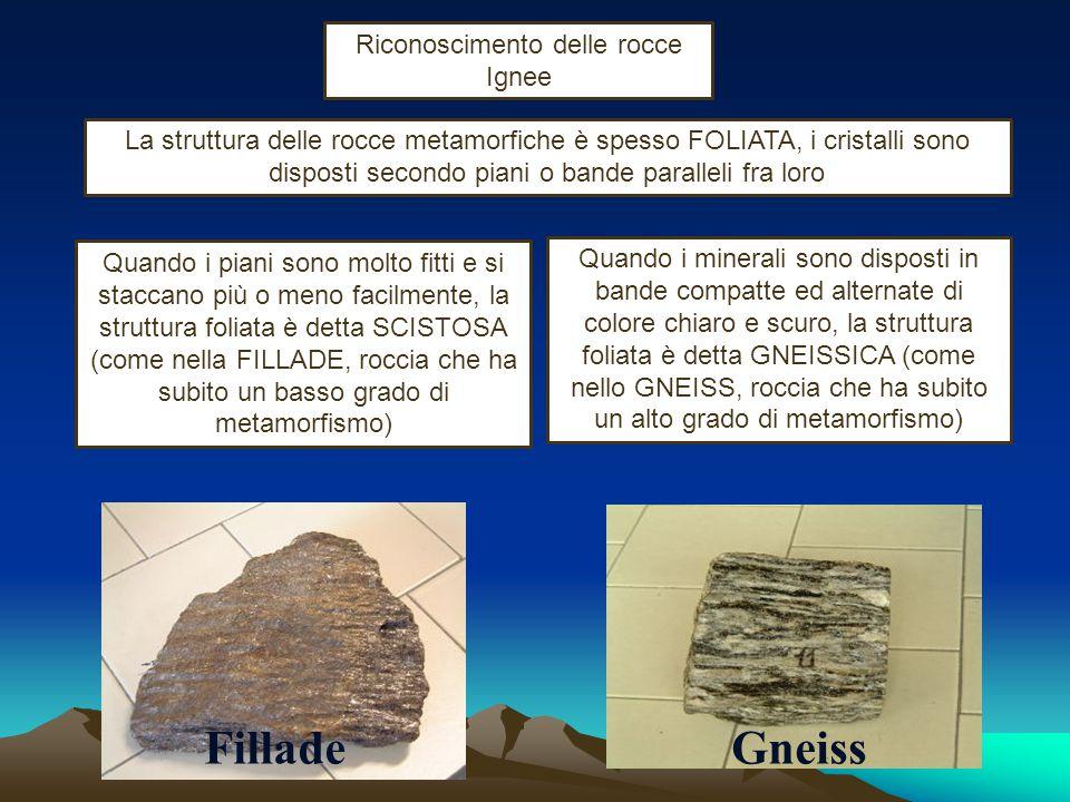 una roccia ignea effusiva è caratterizzata da varie strutture: STRUTTURA PORFIRICA con l'evidente presenza di pochi fenocristalli riconoscibili fra mi