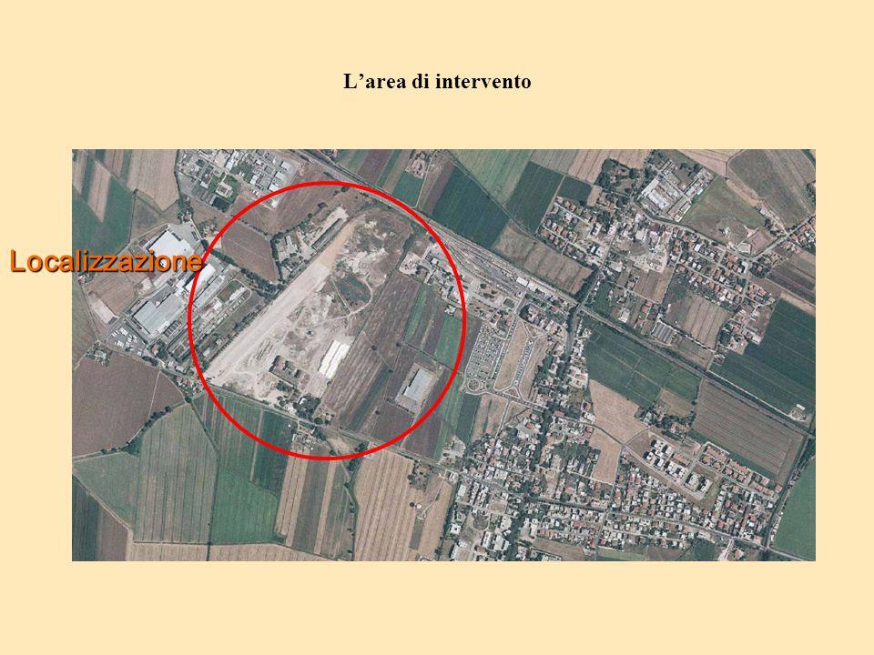 L'area di intervento Localizzazione