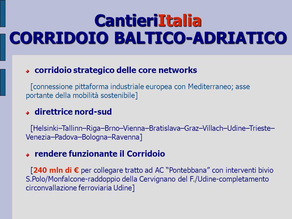 AZIONI NEL TRASPORTO FERROVIARIO MERCI strategia complessiva ed integrata [reti; servizi; alleanze operative tra centri/gestori/imprese; liberalizzazi