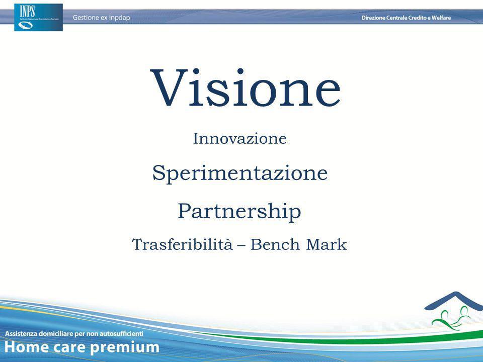 Visione Innovazione Sperimentazione Partnership Trasferibilità – Bench Mark