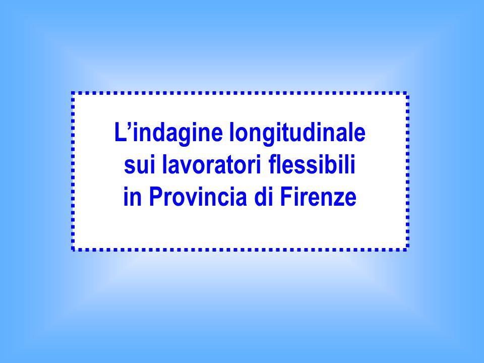 L'indagine longitudinale sui lavoratori flessibili in Provincia di Firenze