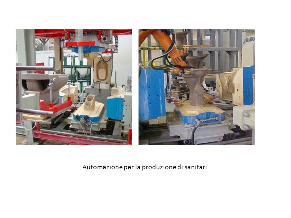 Automazione per la produzione di sanitari