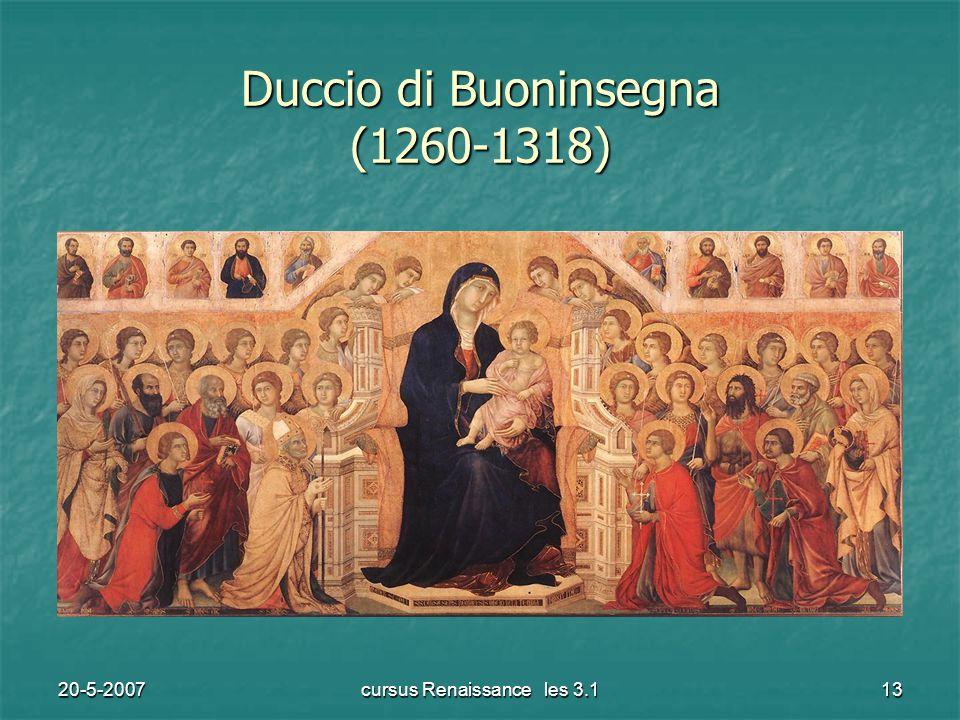 20-5-2007cursus Renaissance les 3.113 Duccio di Buoninsegna (1260-1318)