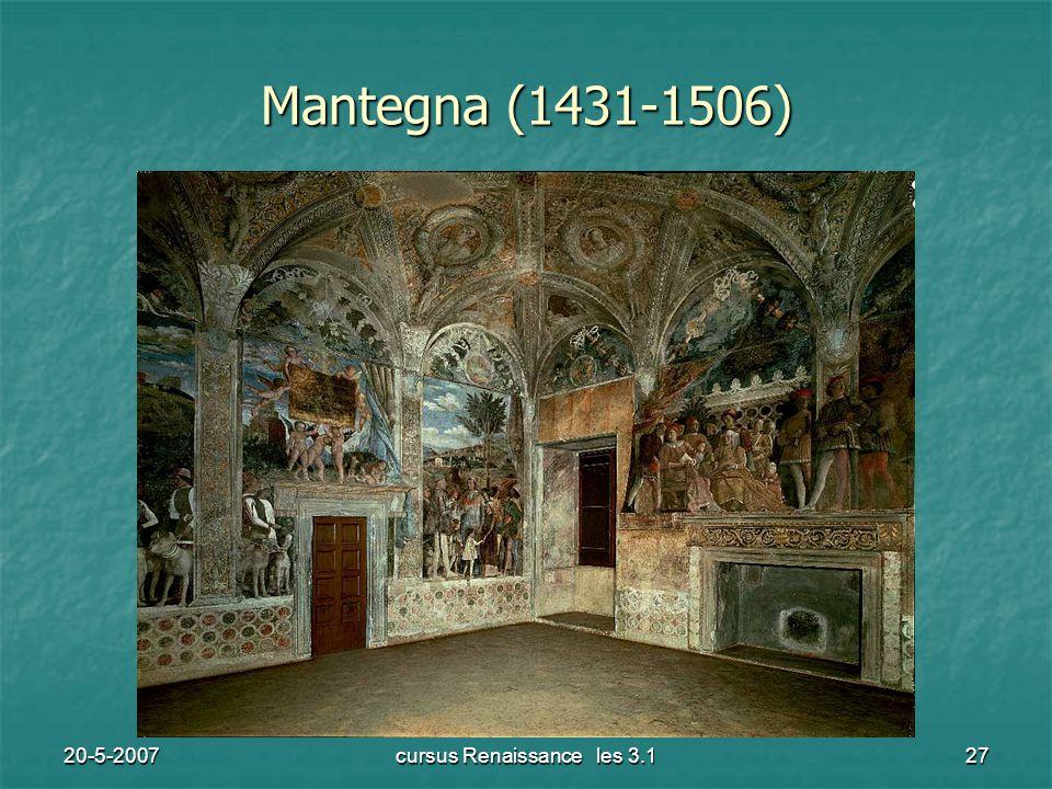 20-5-2007cursus Renaissance les 3.127 Mantegna (1431-1506)