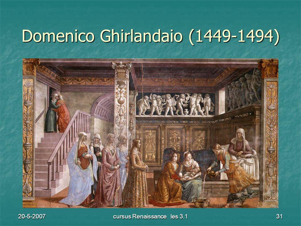 20-5-2007cursus Renaissance les 3.131 Domenico Ghirlandaio (1449-1494)