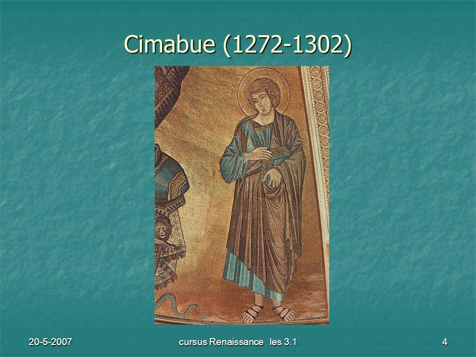 20-5-2007cursus Renaissance les 3.14 Cimabue (1272-1302)