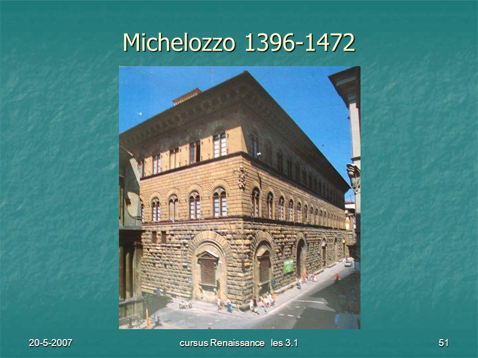 20-5-2007cursus Renaissance les 3.151 Michelozzo 1396-1472