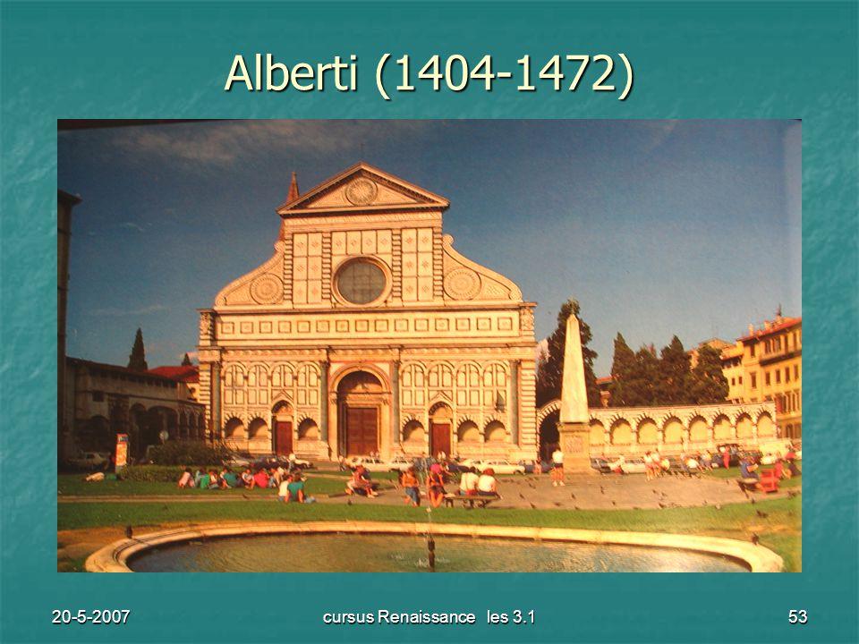 20-5-2007cursus Renaissance les 3.153 Alberti (1404-1472)