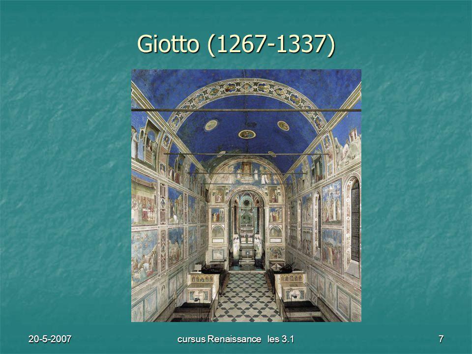 20-5-2007cursus Renaissance les 3.17 Giotto (1267-1337)