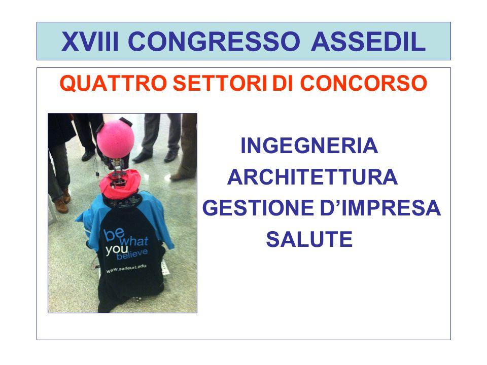 XVIII CONGRESSO ASSEDIL LA GIURIA D'ONORE DEL CONCORSO Fr.