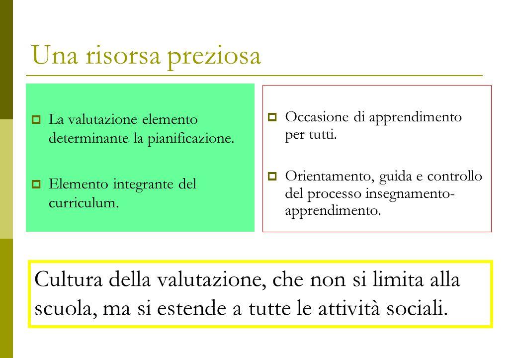 La valutazione come strumento e luogo della personalizzazione  in cui si attribuisce valore  all'applicazione dell'allievo  e al suo apprendimento.